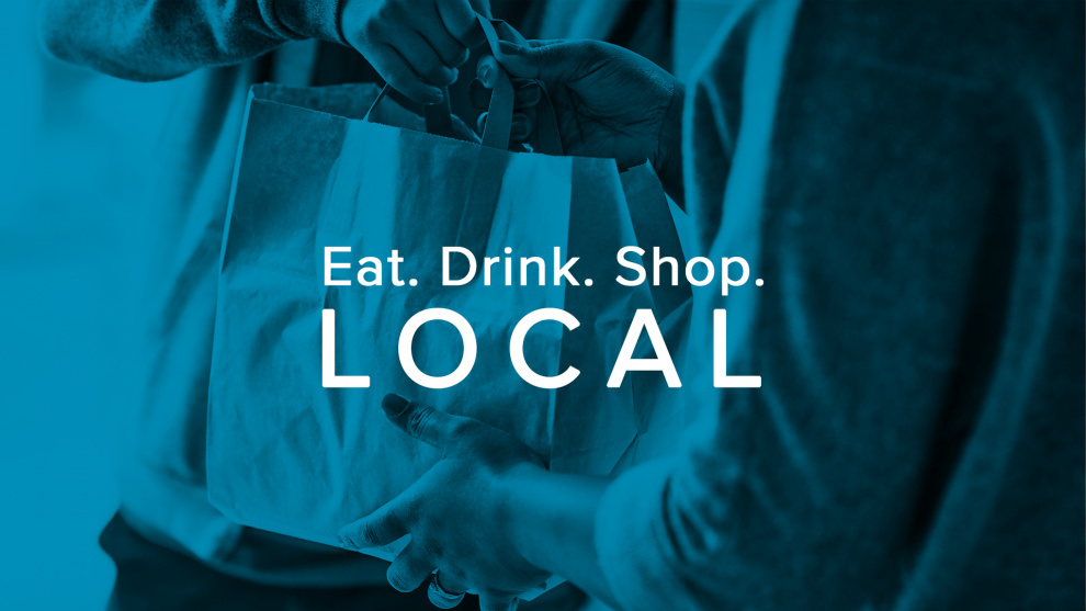 Eat. Drink. Shop. Local