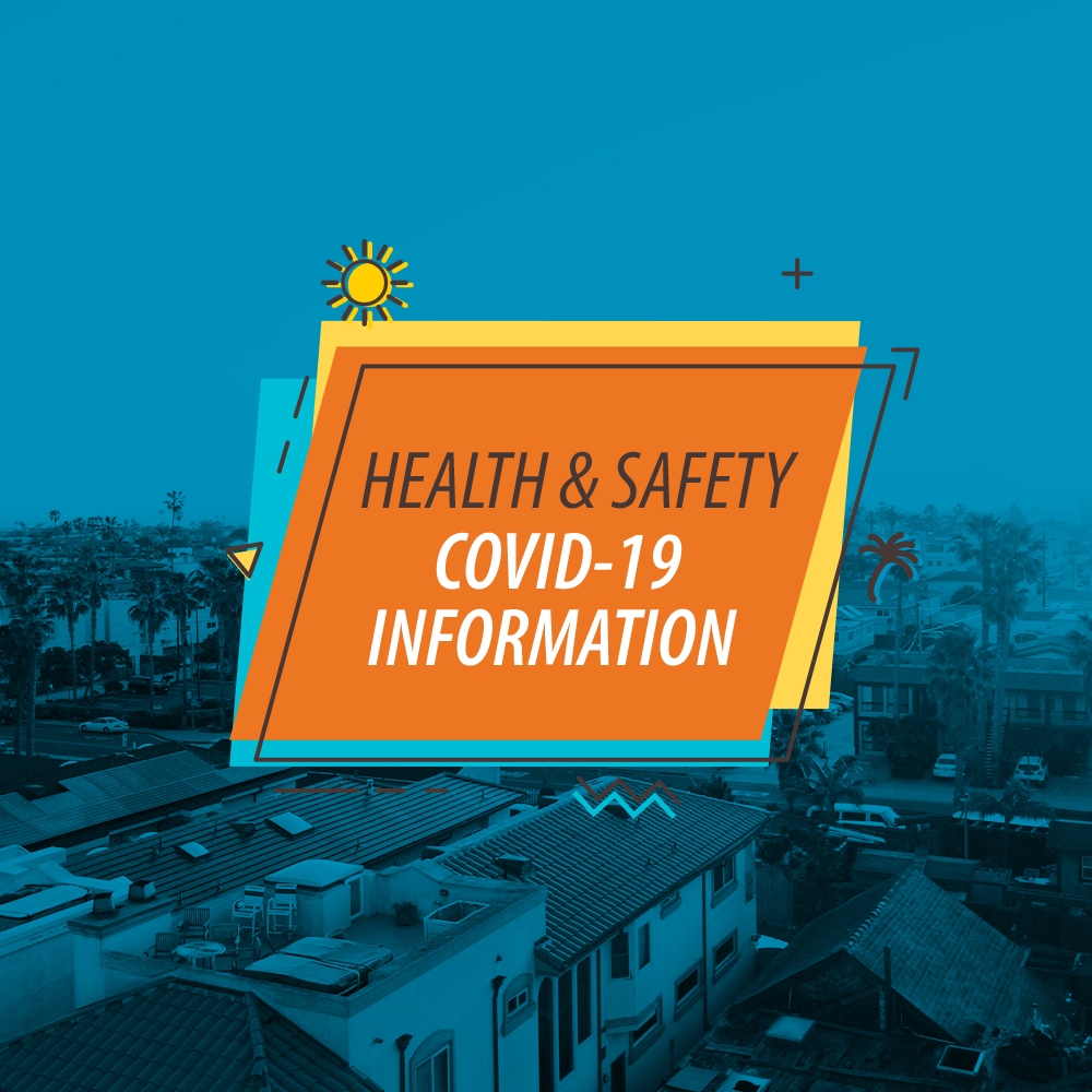 Health and Safety. Covid-19 Information