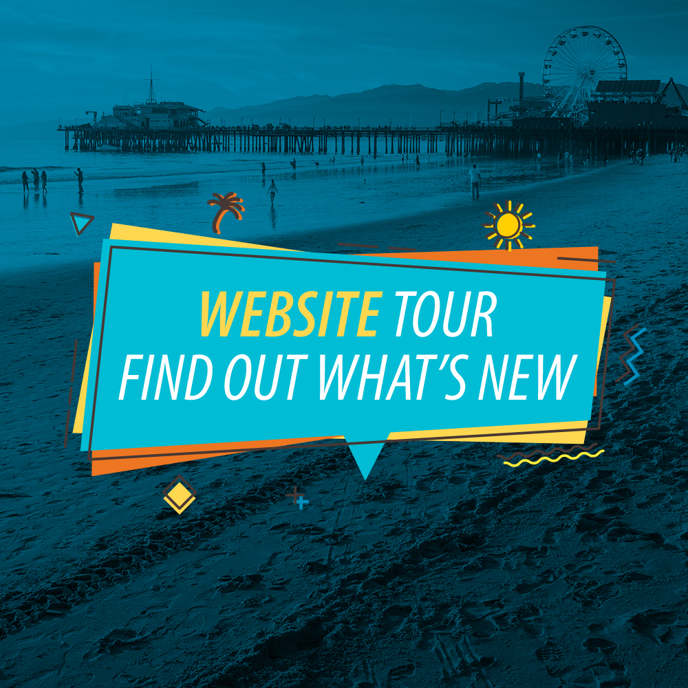 Website Tour. Find out what's new