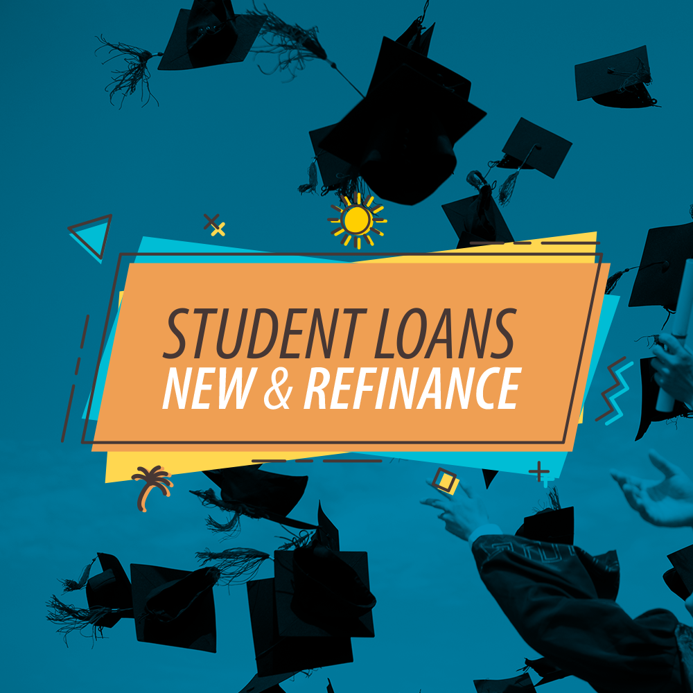 Student Loans. New and Refinance